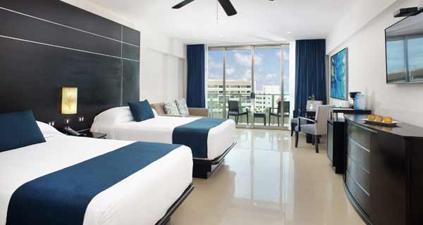 Accommodations - Great Parnassus All Inclusive Resort & Spa - Cancun, Mexico